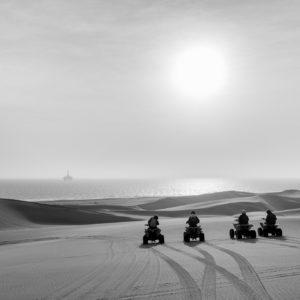 Quad Bikes In The Desert. Fujifilm X100